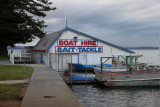 Boats for Hire - Not today, too dull!