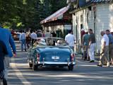 Leaving Saratoga Race Course