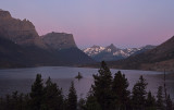 Morning Alpen Glow, Saint Mary Lake