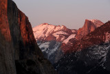 Evening's Light From Tunnel View