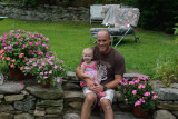 Annabelle with her Dad (Sean, my Nephew)