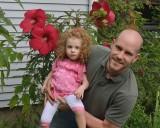 Michel holding Alexandria Rose