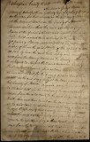 Court Papers by John Kenney of Virginia 1818