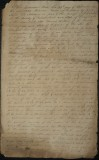 1827 Hand Written Deed Transfer