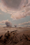 15749 Diorama: The Battle For Pozieres, 1916