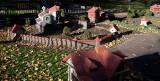 18173 09:33 Day 2 - The Mock Tudor Village II, Long Shadows Over The Churchyard