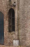 detail van de gewelven langs de grachten