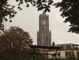 Gezicht op de Dom van Utrecht