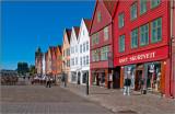 Bryggen Wharf in Bergen, Norway