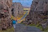 Walking the Crest of the Mid-Atlantic Ridge