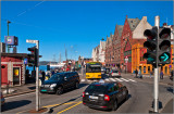 Approaching Bryggen Wharf
