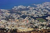 Kyrenia from St Hilarion Castle