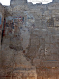 Ancient Egyptian, Coptic Christian and Islamic layers at Luxor Temple