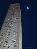 Luxor Obelisk with Moon and Jupiter