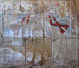 Horus and Thoth anoint Hatshepsut
