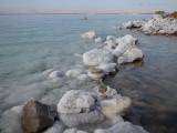 Dead Sea looking across from Jordan to Israel