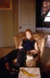 Pattie with Cat