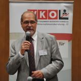 Fachgruppenobmann Stv.Günter R. Schwarz begrüßt 160 Teilnehmer