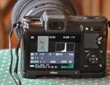 Nikon 1 V1 mit Objektiv Sigma 50 F 1,4