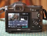 Nikon 1 V1 mit Objektiv Peleng 8 mm