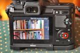 Nikon 1 V1 Belichtungskorrektur über Taste und Menü