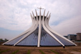 Vista Exterior de la Catedral de Brasilia