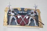 Escudo en el Casco Antiguo de Biel