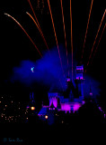 Tinkerbell and Fireworks