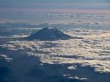Mt. Ranier from 34,000 feet