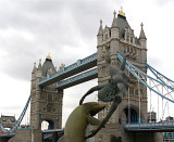 The Dolphin, The Girl and the Tower Bridge
