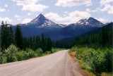 Needlenose Mountain on the Stewart-Cassiar Highway