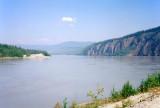 The Yukon River at Dawson City