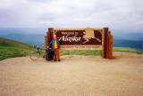 Top of the World Highway - Alaska/Canada border crossing