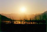 Sunrise on the Seward Highway