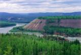 Five Finger Rapids on the Yukon River