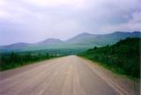 Beginning of Taylor Highway near Tok