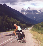 Me in front of Mount Robson