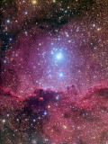 NGC 6188 and NGC 6193 in Ara