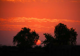 Sunrise on the River Gambia