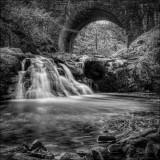Arbirlot Waterfall.