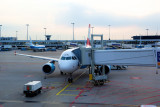 Airbus A320 Austrian Airlines for our trip to Greece