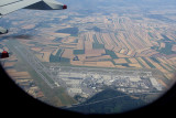 Overflying Vienna airport