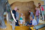 The team in the Siatista museum