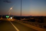Evening view of the Egnatia Odos