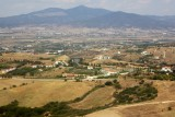 Typical Greec Macedonian landscape