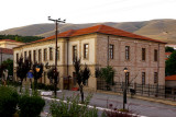 The Trampantzeion Gymnasion now housing the Historical Paleontological Collection of Siatista