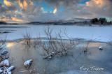 Trawsfynydd in the grip of winter