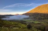 Mist over Llyn Gwynant.