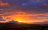 Sunrise over Arenig.