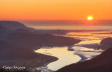 Mawddach Estuary sunset.
